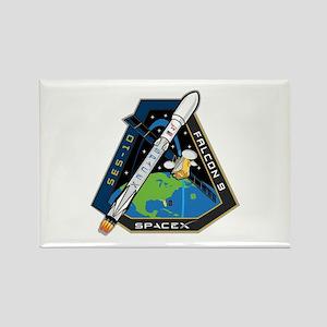 SES-10 Launch Team Rectangle Magnet
