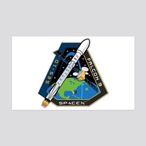 SES-10 Launch Team 35x21 Wall Decal