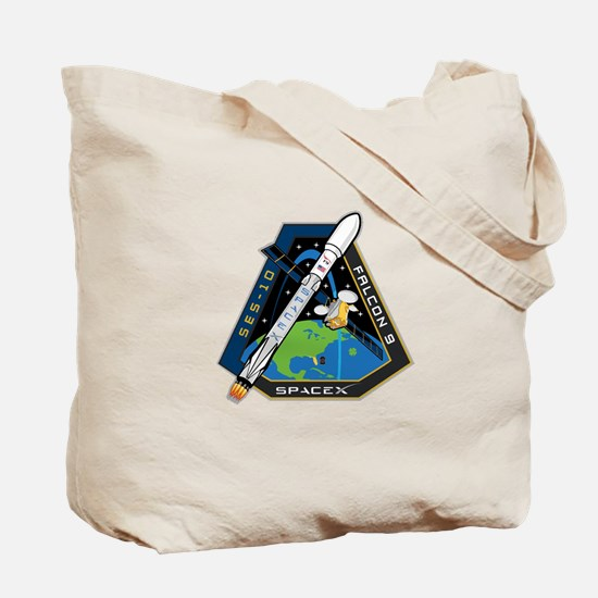SES-10 Launch Team Tote Bag