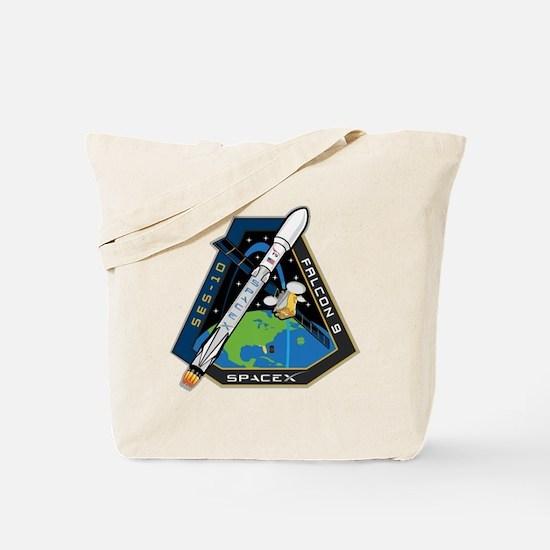 SES-10 Launch Team Tote Bag