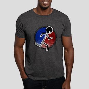 Funny Running Logo Dark T-Shirt