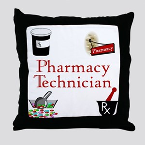 Pharmacy Technician Throw Pillow
