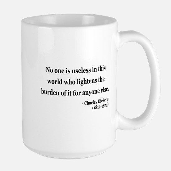 Charles Dickens 1 Large Mug
