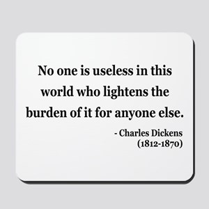 Charles Dickens 1 Mousepad