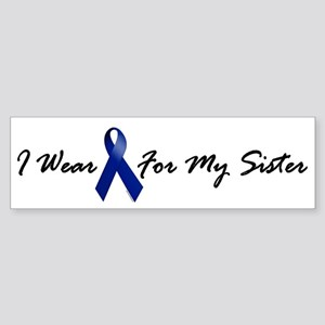 I Wear Blue For My Sister 1 Bumper Sticker
