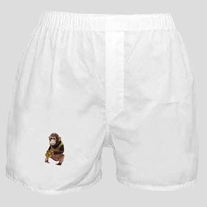 Plain monkey Boxer Shorts
