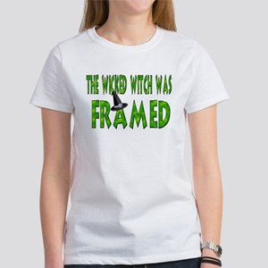 The Wicked Witch Was Framed Women's T-Shirt
