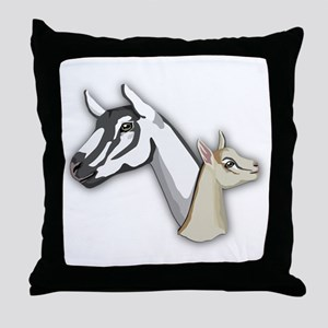 Alpine Goat Throw Pillow