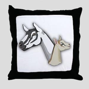 Alpine Goat Throw Pillow
