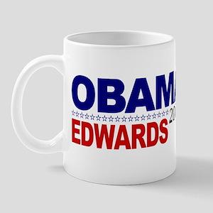 Obama Edwards 2008 Mug