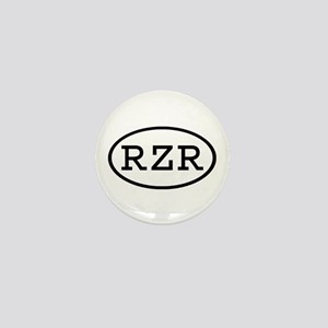 RZR Oval Mini Button