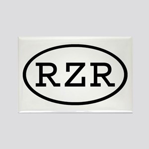 RZR Oval Rectangle Magnet
