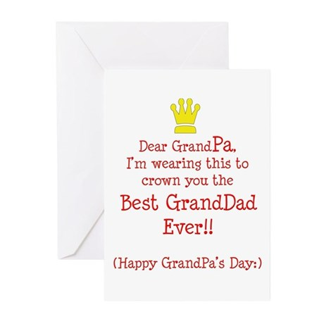 happy grandfather s day greeting cards pk of 10 by latidaballet