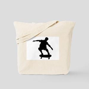 Skateboarding Tote Bag