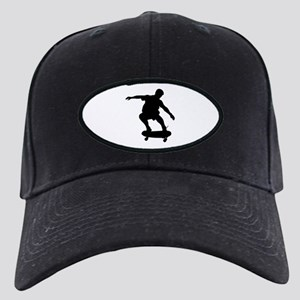 Skateboarding Black Cap
