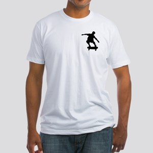 Skateboarding Fitted T-Shirt