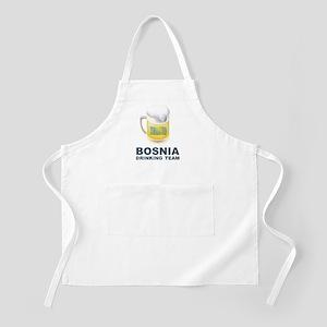 Bosnia Drinking Team BBQ Apron