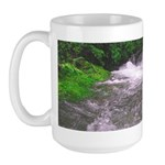 Mattole River Waterfall Large Mug