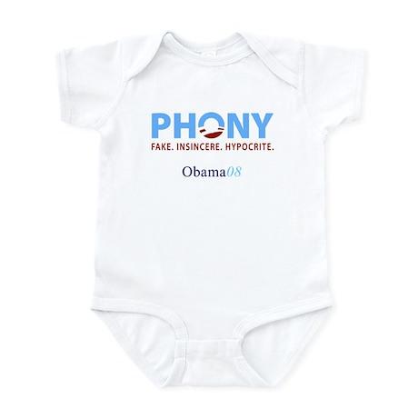 Phony Obama Infant Bodysuit