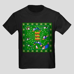 Border Collie Kids Dark T-Shirt