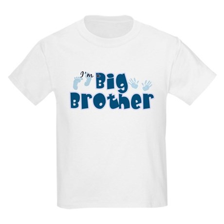 Im A Big Brother Kids Light T-Shirt