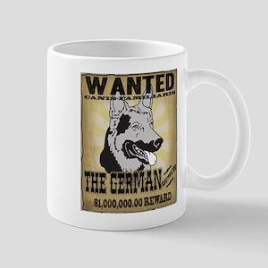 Wanted: The German Shepherd Mug