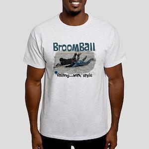 Broomball Style Light T-Shirt