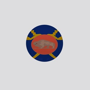 Buffalo Soldier Badge Mini Button