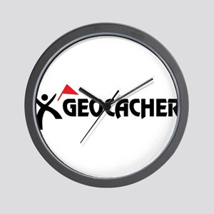 Geocacher Wall Clock