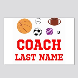 Athletics Coach Postcards (Package of 8)