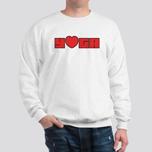 Love Yoga Sweatshirt