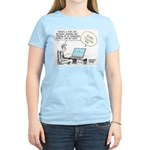 Dad's Computer Women's Light T-Shirt
