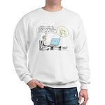 Dad's Computer Sweatshirt