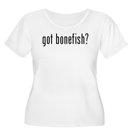 got bonefish? Women's Plus Size Scoop Neck T-Shirt