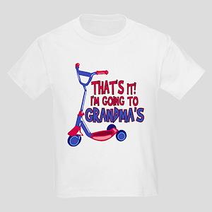 Going To Grandma's Kids Light T-Shirt