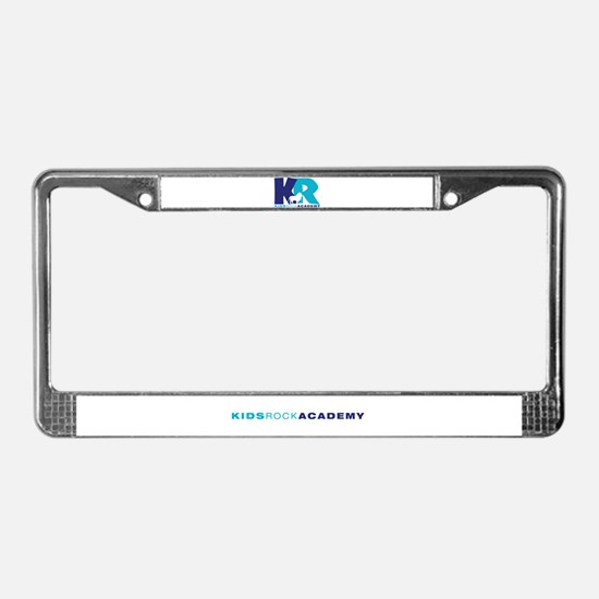 Cute Home school License Plate Frame