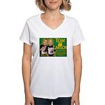 Team Larson Women's V-Neck T-Shirt