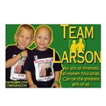 Team Larson Postcards (Package of 8)