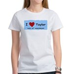 HAPPY 4OTH ANNIVERSARY TAYLOR Women's T-Shirt