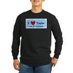 HAPPY 4OTH ANNIVERSARY TAYLOR Long Sleeve Dark T-S