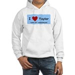 HAPPY 4OTH ANNIVERSARY TAYLOR Hooded Sweatshirt