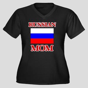 Russian Mom Plus Size T-Shirt