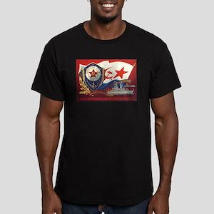 CCCP Navy Ash Grey T-Shirt