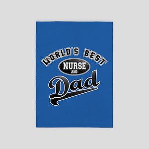 Dad Nurse 5'x7'Area Rug