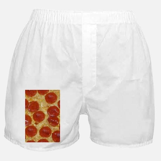 big pepperoni pizza Boxer Shorts