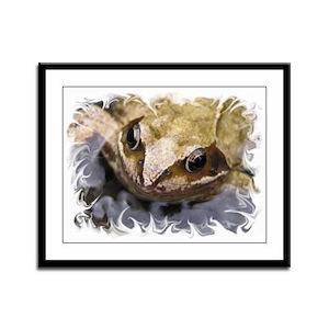 ...Frog 2... Framed Panel Print