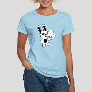 go420 Women's Pink Bunny T-Shirt