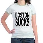 Boston Sucks Jr. Ringer T-Shirt