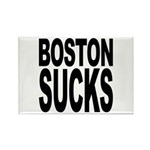 Boston Sucks Rectangle Magnet