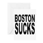 Boston Sucks Greeting Cards (Pk of 10)